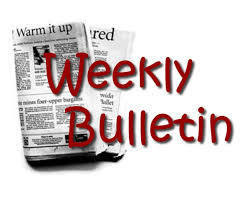 Weekly Bulletin - October 5th, 2020
