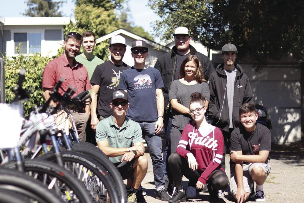 B-Rad sponsored bikes for NBMA students