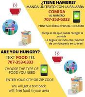 Information On Where Food Is Being Distributed