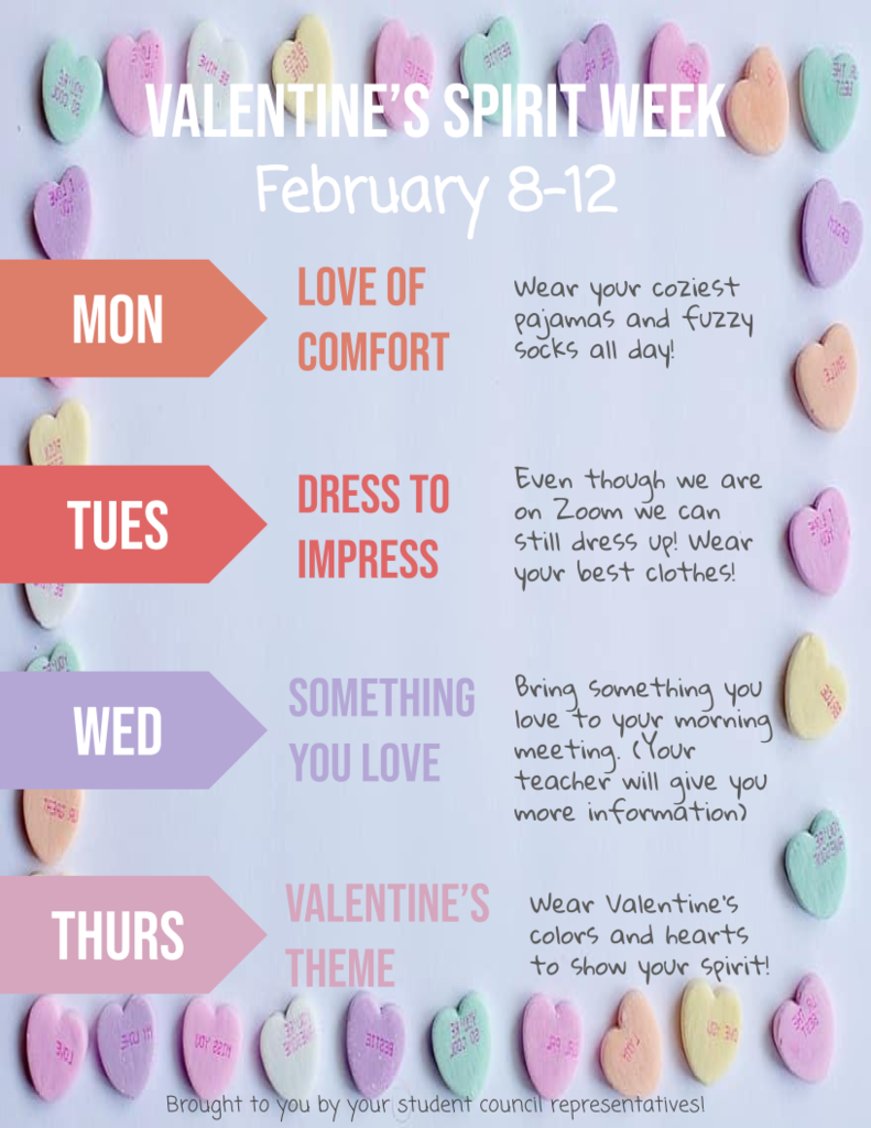 Feb 21 Spirit Week English