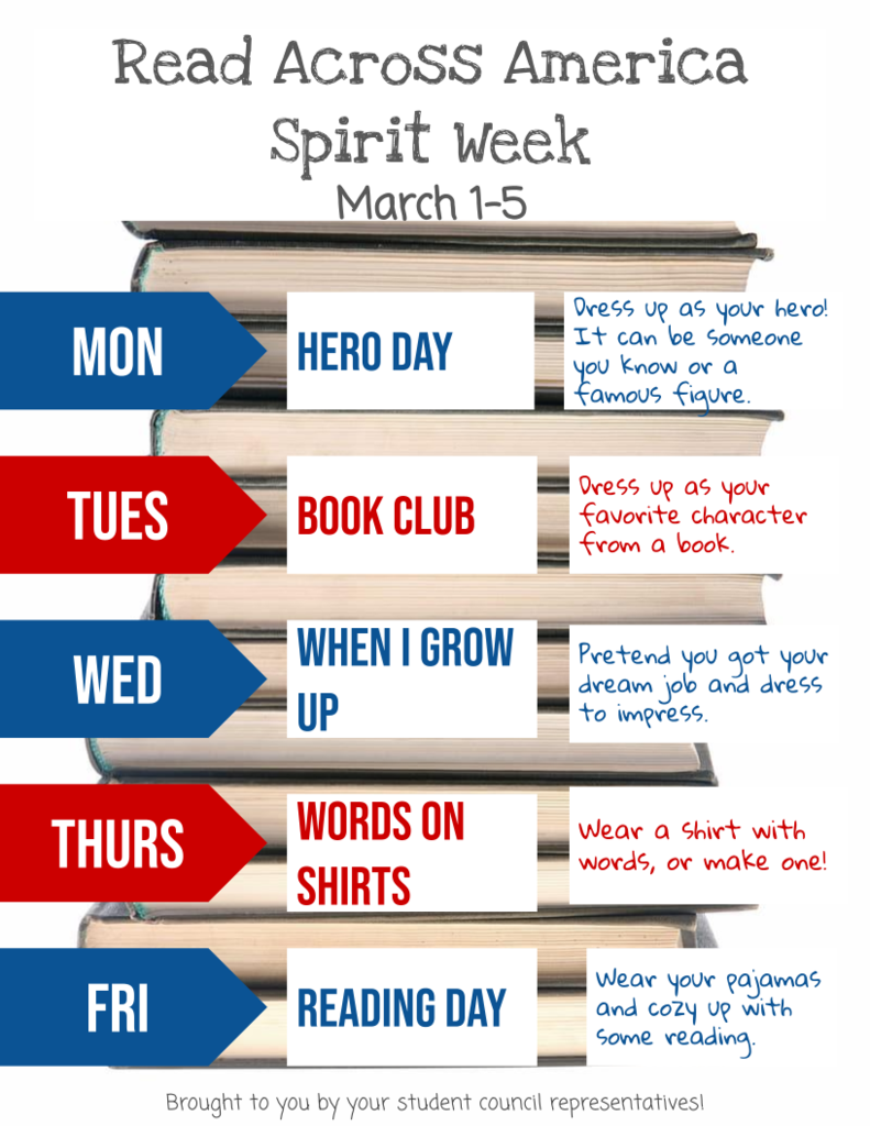 RAA Spirit Week