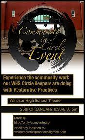 Event Flyer from Community Circles