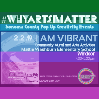 #WhyArtsMatter I Am Vibrant