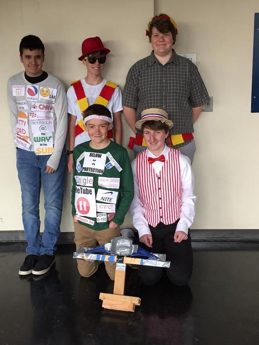 WMS Balsa Team, Odyssey of the Mind