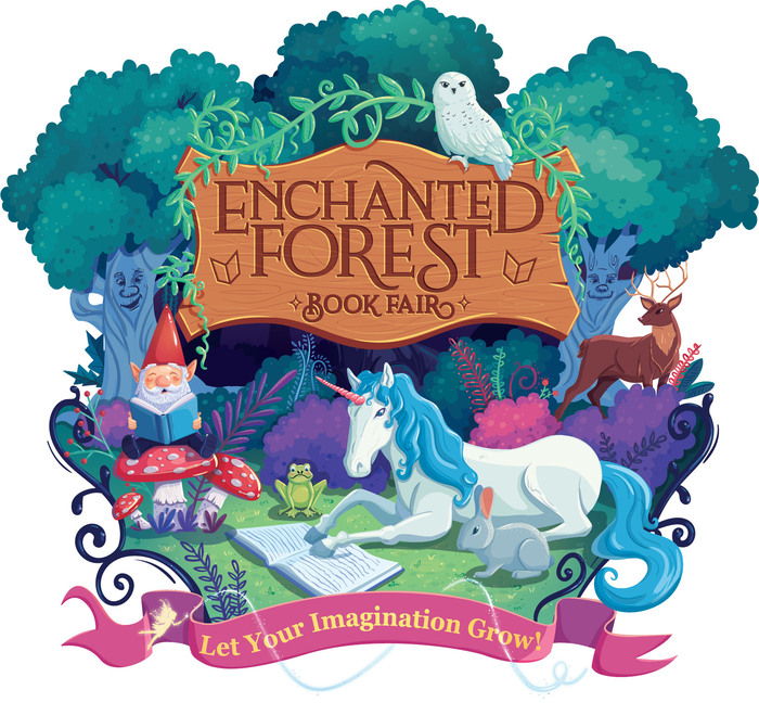 Scholastic Book Fair - Enchanted Forest