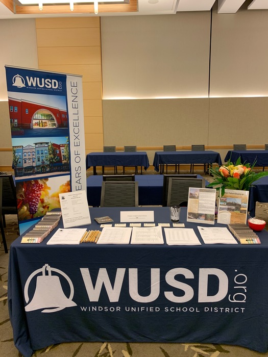 WUSD Table @ Sonoma State Teacher Recruitment Fair