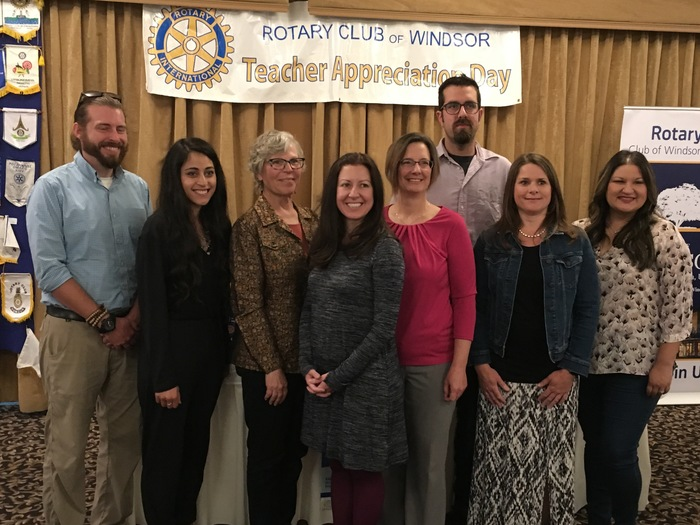 WUSD Teachers of the Year