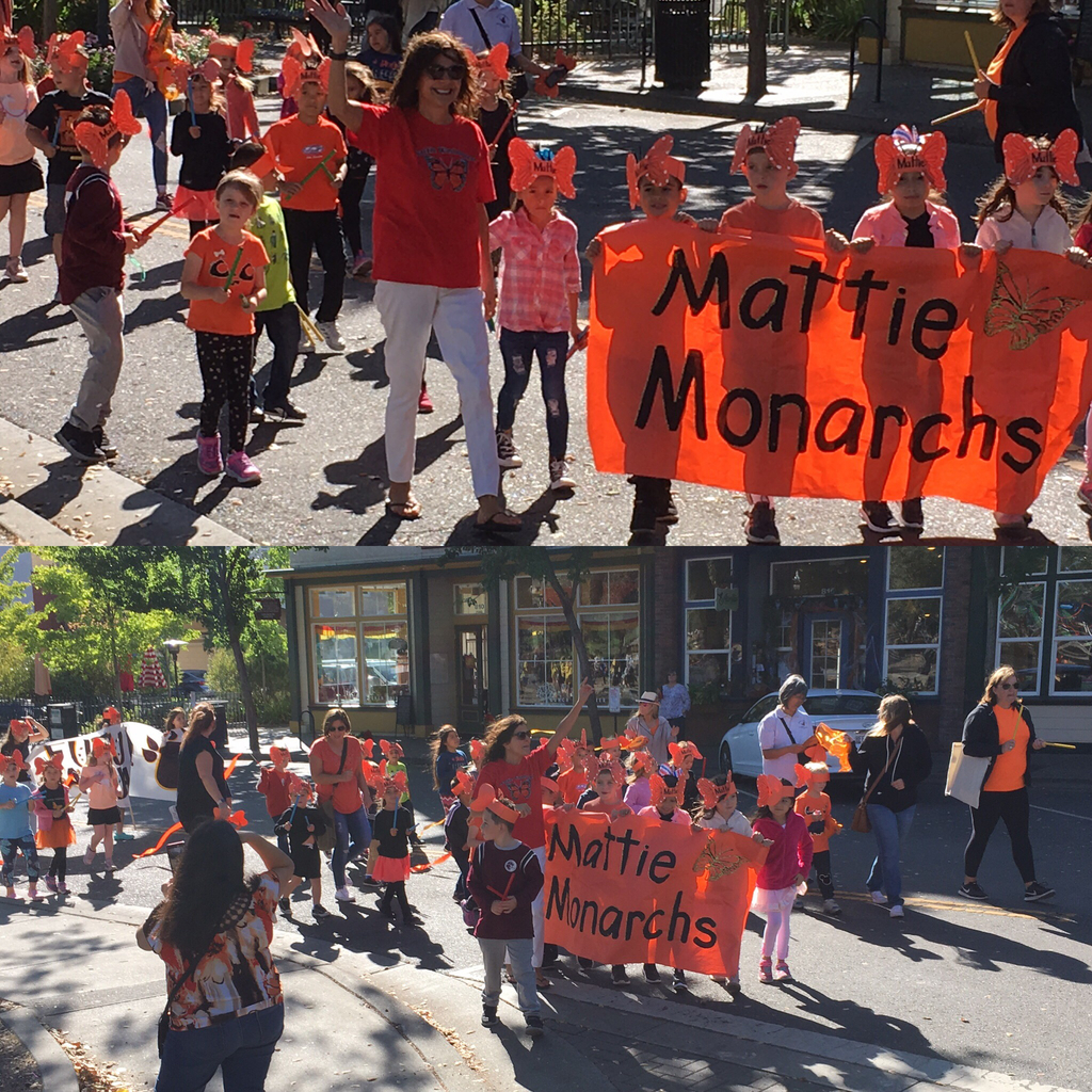 Mattie Students In Parade!