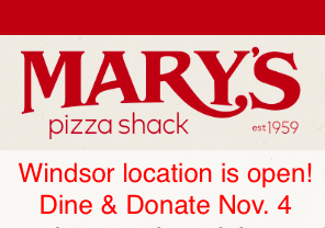 Mary's Pizza Shack Windsor, CA
