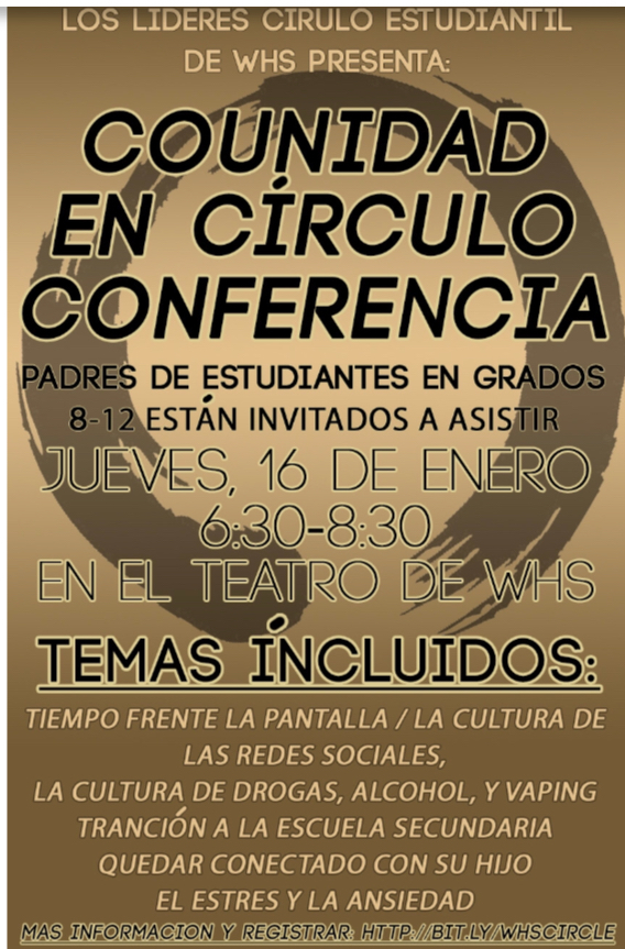 Circle Keeper Event Poster in Spanish
