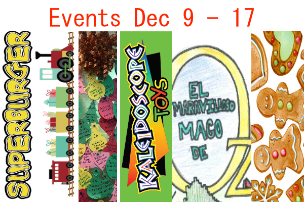 Events Dec 9 - 17