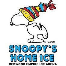 Snoopy Home Ice
