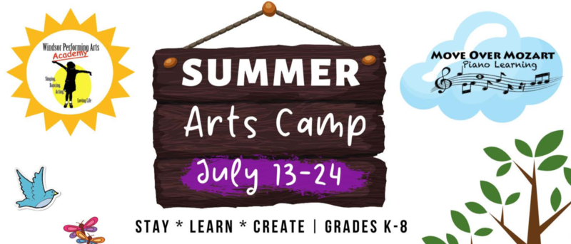 Arts Camp July 13-24